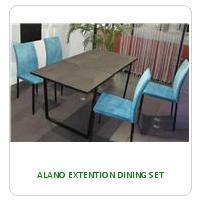 ALANO EXTENTION DINING SET